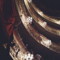 Снимок сделан в Михайловский театр пользователем Anastasia V. 11/2/2013