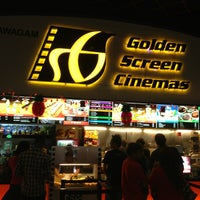 Photo taken at Golden Screen Cinemas (GSC) by Chow C. on 1/28/2013