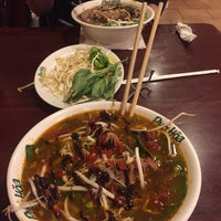 Photo taken at Pho Hoa Noodle Soup by Jared S. on 1/22/2017
