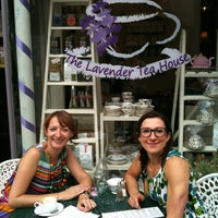 Photo taken at The Lavender Tea House by Nicola J. on 8/23/2013