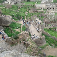 Photo taken at Golconda Fort by Ashish R. on 6/30/2013