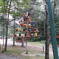 Photo taken at Parc Des Chutes De La Petite Riviere Bostonnais by Eric V. on 7/10/2018