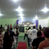 Photo taken at Igreja Batista Resgate de Vidas by Fábio S. on 1/1/2013