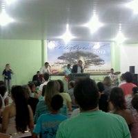 Photo taken at Igreja Batista Resgate de Vidas by Fábio S. on 1/13/2013