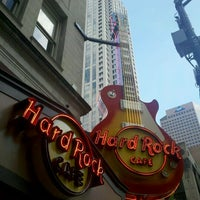 Photo taken at Hard Rock Cafe Atlanta by Julie W. on 9/22/2012