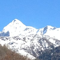 Photo taken at Chiesa In Valmalenco by Claudia N. on 3/7/2014