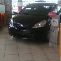 Photo taken at Toyota Αλεξανδρίδης by Ioannis D. on 2/22/2013