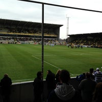 Photo taken at Herman Vanderpoortenstadion | Het Lisp by Tom F. on 4/13/2013