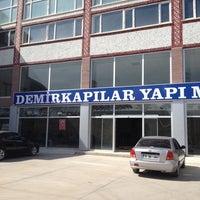 Photo taken at Demirkapilar Yapi Market by Murat E. on 10/1/2013