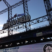 Photo taken at Safeco Field by Felix L. on 6/11/2013