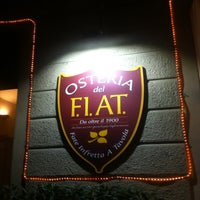 Photo taken at Osteria del F.I.A.T. by Marco B. on 10/10/2015