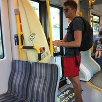 Photo taken at Surfers Paradise North Station by Geoff T. on 1/19/2018