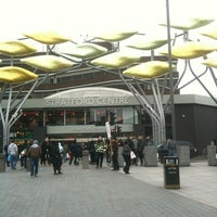 Photo taken at Stratford Centre by Geoff T. on 3/4/2013