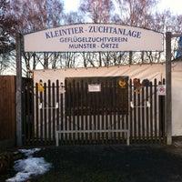 Photo taken at Kleintier-Zuchtanlage by Anna on 2/2/2014