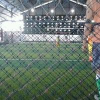Photo taken at Udayana Futsal Centre (UFC) by Trimukti W. on 11/24/2012