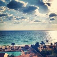 Photo taken at Ramada Plaza Marco Polo Beach Resort by Bruna M. on 1/25/2013