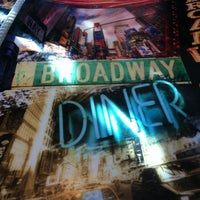 Photo taken at Broadway Diner by Jessica W. on 12/11/2012