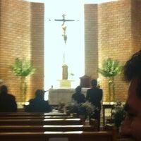 Photo taken at Parroquia Nuestra Señora del Carmen by Sian V. on 9/15/2013