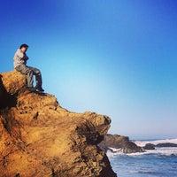 Photo taken at MacKerricher State Beach by Vicki T. on 1/20/2014