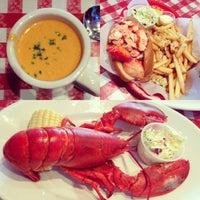 Photo taken at Old Port Lobster Shack by Vicki T. on 3/24/2013