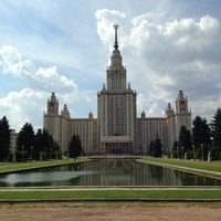 Photo taken at Lomonosov Moscow State University (MSU) by Omar S. on 8/13/2013