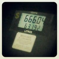 Photo taken at Gasolineria Apatlaco by izoka l. on 2/18/2013
