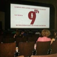 Photo taken at Summer Theater   საზაფხულო თეატრი by Kate on 9/14/2014