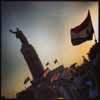 Photo taken at Tahrir Square by Ghalia E. on 6/30/2013