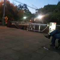 Photo taken at Metro Santa Isabel by Sebastián R. on 12/14/2012