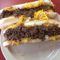 Photo taken at Rudy's Hot Dog by Katie D. on 10/22/2013