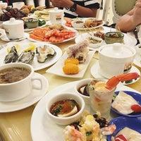 Photo taken at Vienna International Seafood & Teppanyaki Buffet Restaurant by Joan S. on 3/28/2016