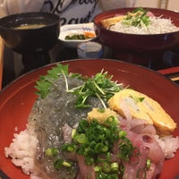 Photo taken at 磯料理 丸だい 仙水 by ata on 6/18/2017