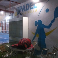 Photo taken at Padel Xirivella by Javier H. on 1/22/2013