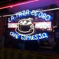 Photo taken at La Taza De Oro by Luis D. on 12/29/2012