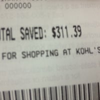 Photo taken at Kohl's Gainesville by Areliis R. on 11/17/2012