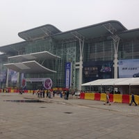 Photo taken at 湖南国际会展中心 by Rodrigo T. on 5/20/2014
