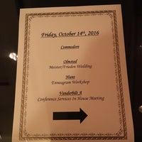 Photo taken at Village Hotel on Biltmore Estate by Julie K. on 10/14/2016