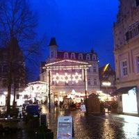 Photo taken at Neuer Markt by Andrew on 11/29/2013