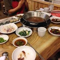 Photo taken at 나영이네 샤브샤브촌 by Kate H. on 5/26/2014