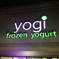 Photo taken at Yogi Frozen Yogurt by Agustin L. on 2/24/2013
