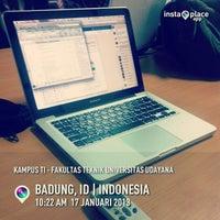Photo taken at Kampus TI - Fakultas Teknik Universitas Udayana by Babiez P. on 1/17/2013