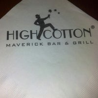 Photo taken at High Cotton Restaurant by Marie C. on 1/16/2013