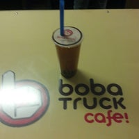 Photo taken at White Rabbit Fusion Cafe/Boba Truck Cafe by Nikki on 2/15/2013