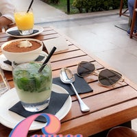 Photo taken at Armani Caffè by Adx7 on 8/18/2018