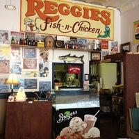 Photo taken at Reggies Fish N Chicken by Chris F. on 10/6/2012