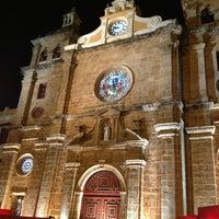 Photo taken at Plaza San Pedro Claver by Hernan P. on 1/9/2013