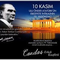 Photo taken at Candaş erkek kuaförü by Tolga C. on 11/10/2017
