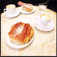 Photo taken at Café Succès by Jouni P. on 10/4/2014