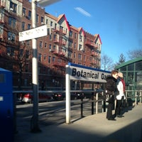 Photo taken at Metro North - Botanical Garden Train Station by Ernesto M. on 1/10/2013