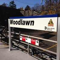 Photo taken at Metro North - Woodlawn Train Station by Ernesto M. on 11/22/2012